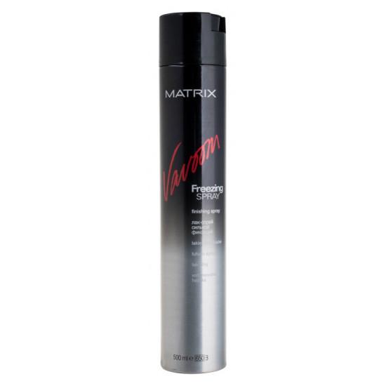 Лак-спрей для волосся сильної фіксації Matrix Vavoom Freezing Spray
